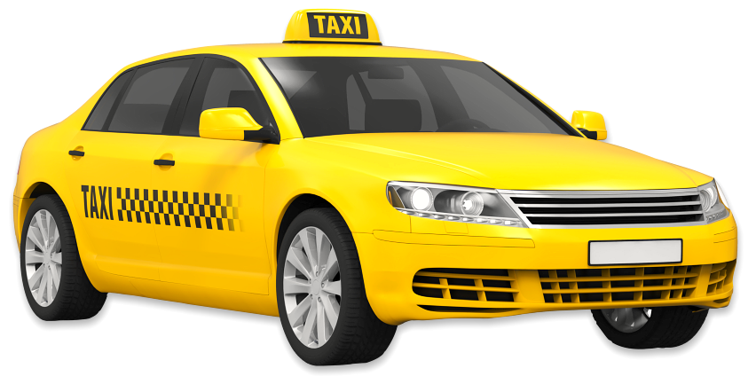 yellow colored taxi